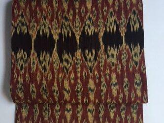 イカット織り名古屋帯 D 【送料無料】】の画像