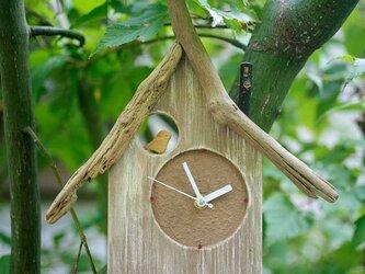 【送料無料】とりっこハウス壁掛け時計、置き時計-10の画像