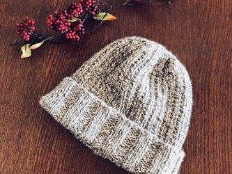 ニット帽子の画像