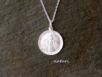 【medaille】sv925 miraculous medal necklaceの画像