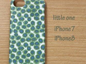 【リバティ生地】ザンジー・サンビーム グリーン iPhone7 & iPhone8の画像