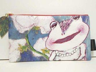空と花と私 ポーチの画像