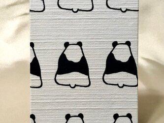 御朱印帳 パンダの画像