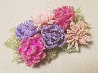 バレッタ Bouquet  (パープルミスト)の画像