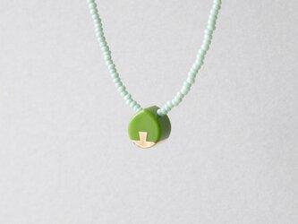 ネックレス Drop mini Green S11の画像