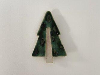 壁掛け陶板 「小さなツリー③」の画像