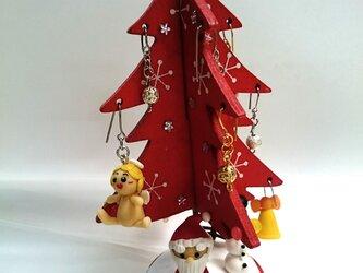 クリスマスツリー  赤の画像