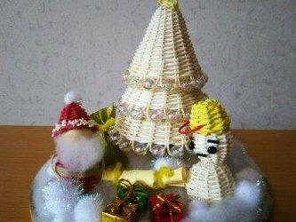 クリスマスマスコット(サンタクロース)の画像