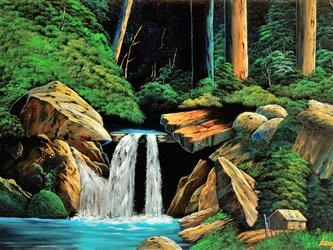 滝風景111の画像