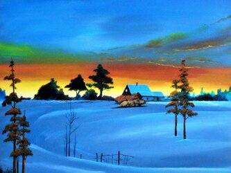 日没のロシアの画像