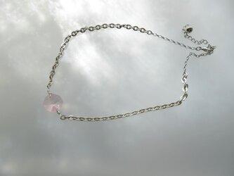 ◇◆プレシオサ社製ライトピンクシャンデリアパーツ◇ネックレス◇。・の画像