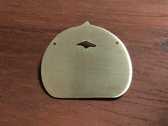 ぴぃちゃん 真鍮ブローチの画像