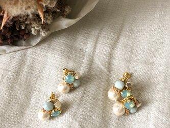 funwari bijou pierce or earringの画像