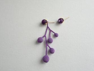 fusa lavender(small/片耳)※ 受注生産の画像