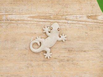 【チビ】家守(ヤモリ)さま壁飾り 尾和の画像