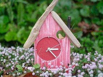 【送料無料】とりっこハウス壁掛け時計、置き時計-12の画像