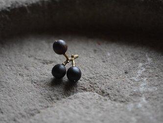 grapes pin broochの画像