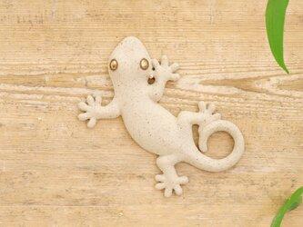 【小】家守(ヤモリ)さま壁飾り 尾和の画像