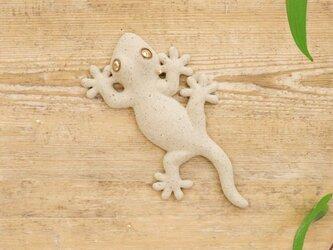 【小】家守(ヤモリ)さま壁飾り 尾直の画像