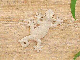 【小】家守(ヤモリ)さま壁飾り 尾巻の画像
