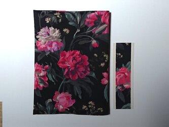 リバティプリント 単行本用(Decadent Blooms)の画像