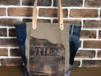 宅急便送料無料☆army duc square tote bag L BDLの画像