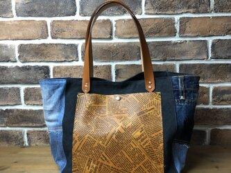 宅急便送料無料☆army duc square tote bag Mplus NDLの画像