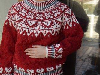 今年のクリスマスセーターの画像