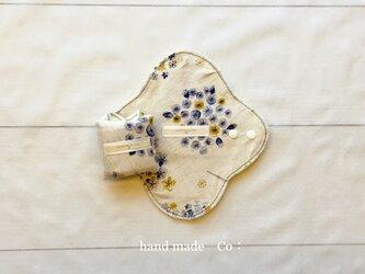 お試し価格  布ナプキン S・Mサイズ*冬花の画像