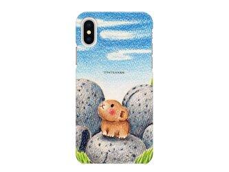 ナキウサギと十勝石 iPhoneハードケースno.183の画像