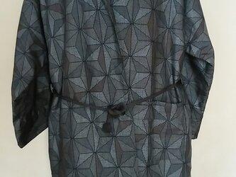 袷、泥大島紬コートの画像