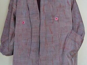 ぼかしの絞りコート(ジャケット)の画像