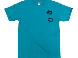 キスマークTシャツ ユニセックスXS〜XLサイズ/レディースXS〜Lサイズ Tcollectorの画像
