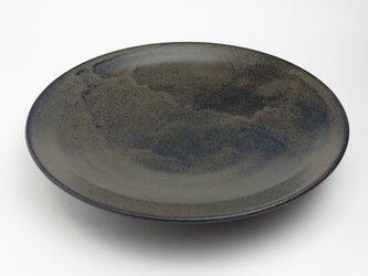 鉄釉 フライパン餃子皿 28cm用の画像