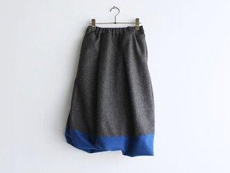 ウールバルーンスカート  intimeの画像
