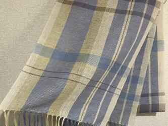 手織りストール A24の画像