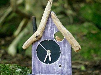 【送料無料】 とりっこハウス壁掛け時計、置き時計-14の画像