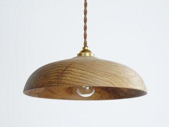 木製 ペンダントランプ 天井照明 楢材9の画像