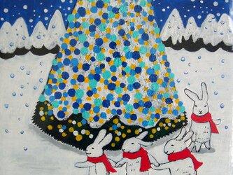 雪のダンスの画像