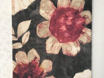 大輪の花・・インテリアパネル ※60×45㎝※の画像