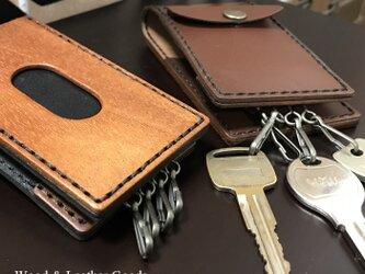 Wood&Leather  Multi ID Pass Aの画像