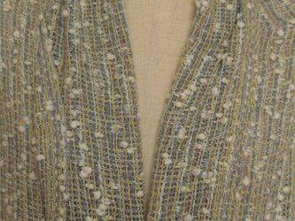 ショール (綿糸、変わり糸)の画像