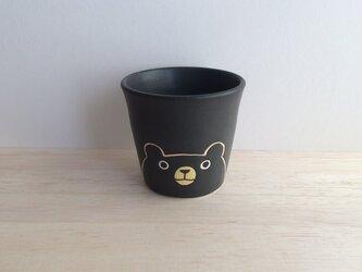 クロクマのフリーカップの画像