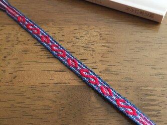 手織りの栞(しおり) チェコ風 Bの画像
