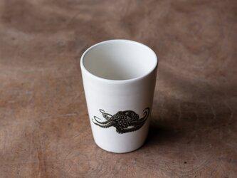 粉引フリーカップ(タコ)の画像