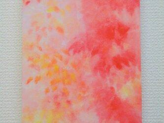 風の色の水彩画 秋色 の画像