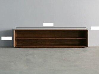 オーダーメイド 職人手作り ローボード テレビ台 テレビボード 無垢材 天然木 木工 木目 北欧家具 エコ LR2018の画像