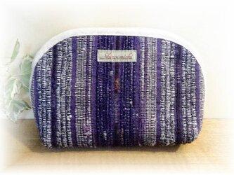 裂き織りポーチ P-026の画像