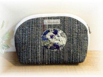 裂き織りポーチ P-028の画像