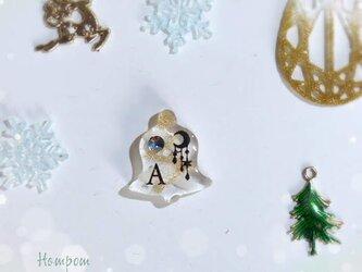 クリスマスベルのピンバッチ☆アリス ホムポムの画像